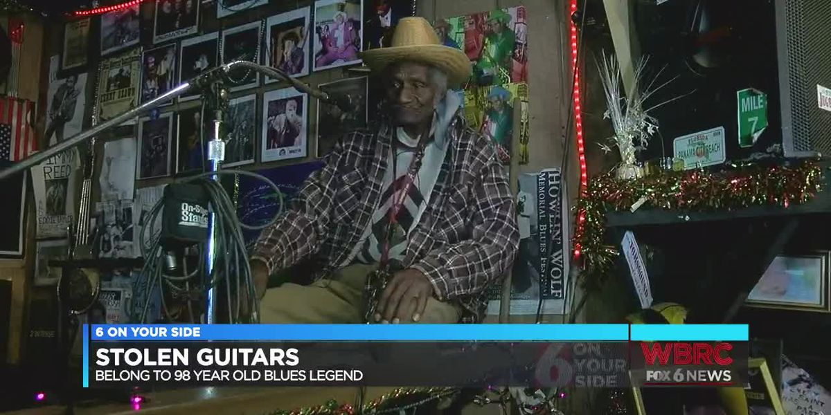Local blues legend searching for stolen guitars