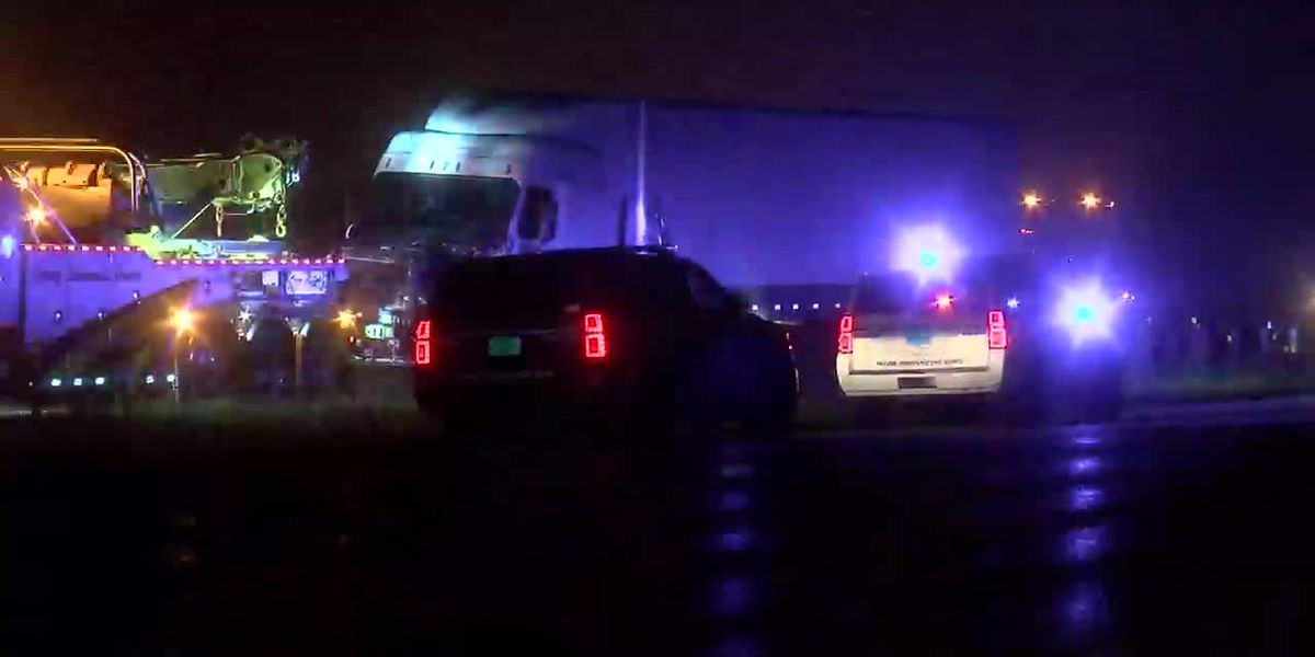 Man killed in accident with tractor trailer on I-459
