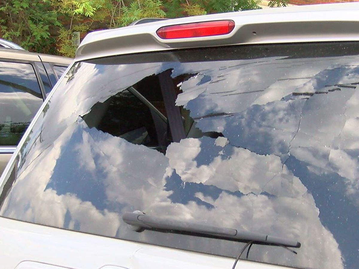 Birmingham woman upset after SUV damaged by gunfire
