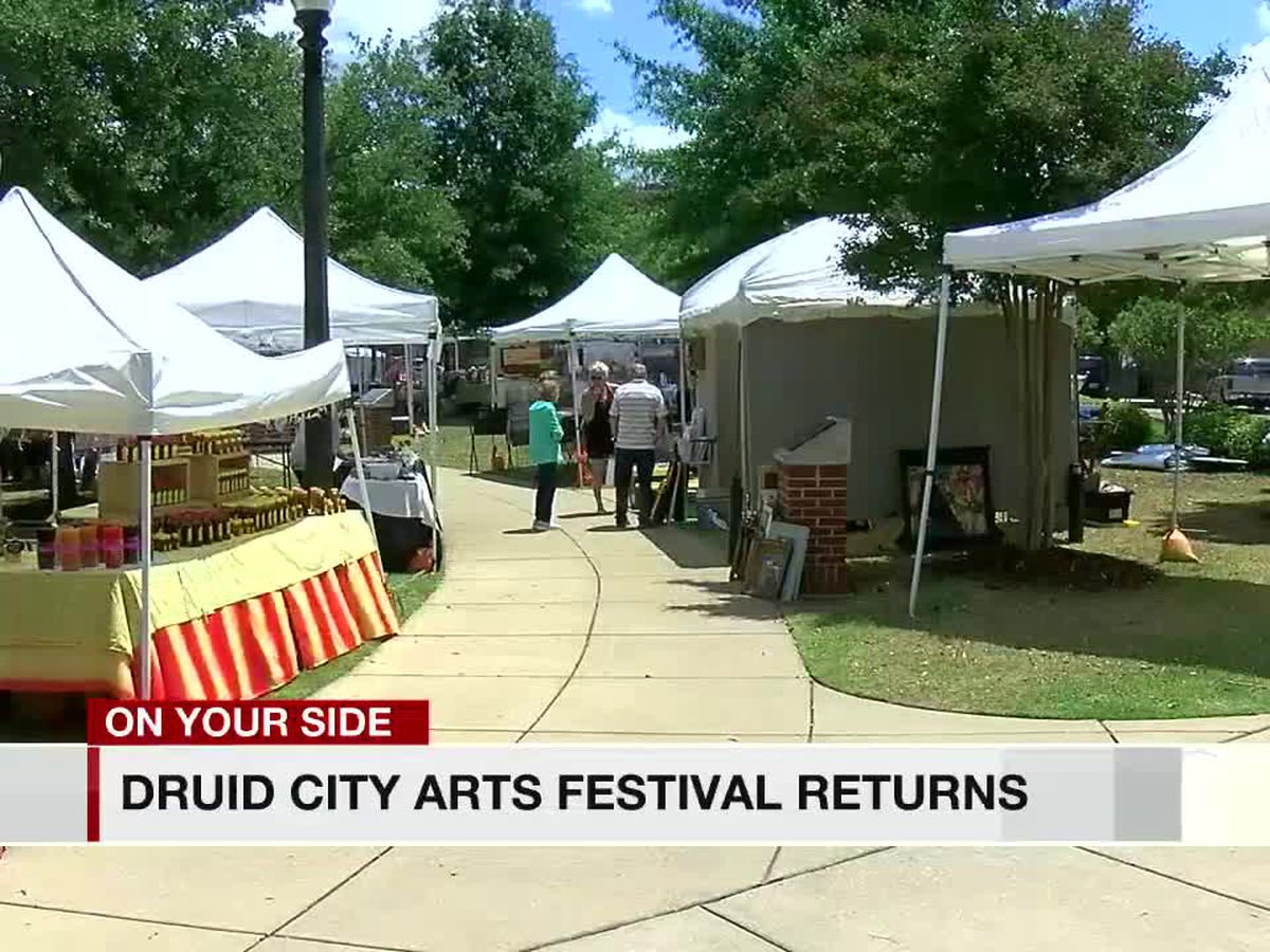 Druid City Arts Festival happening this weekend