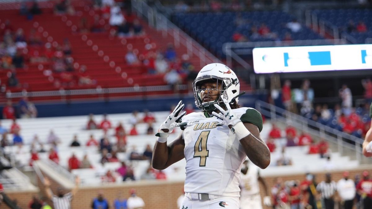 UAB runs over South Alabama as Spencer Brown sets school rushing touchdown record