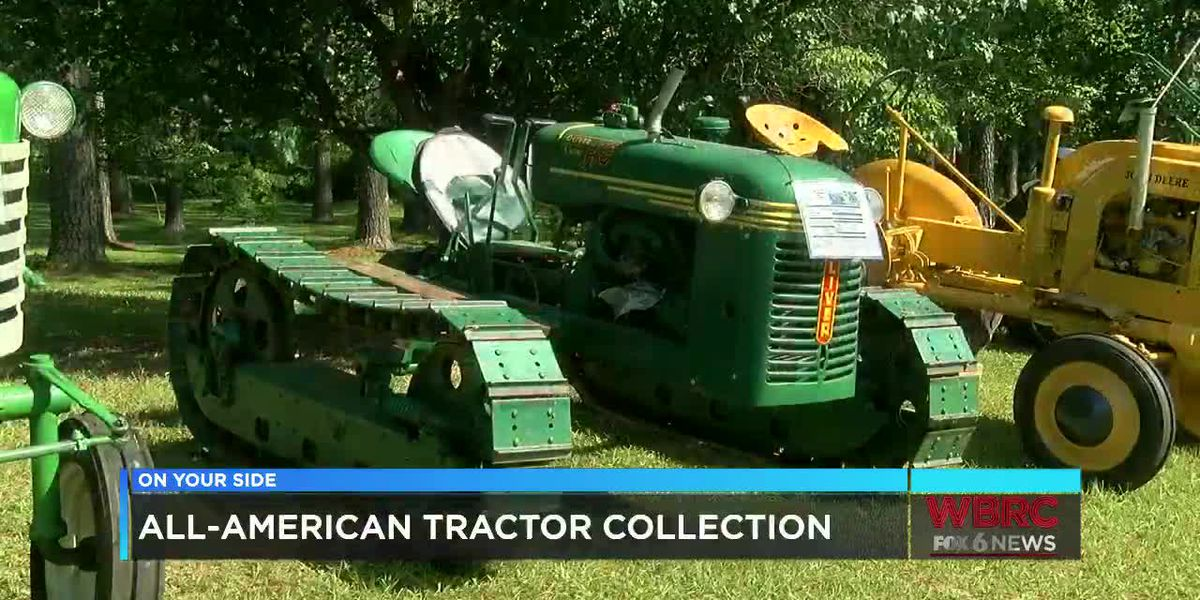 All-American tractor collection