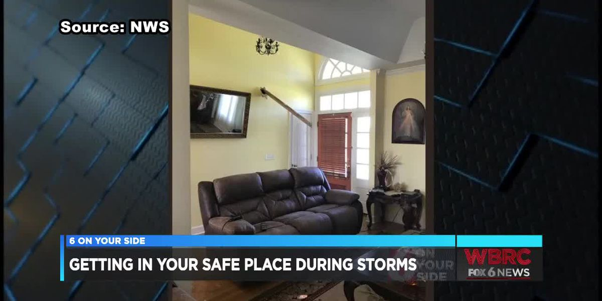 Getting in your safe place during storms