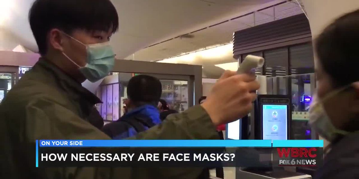 How necessary are face masks?