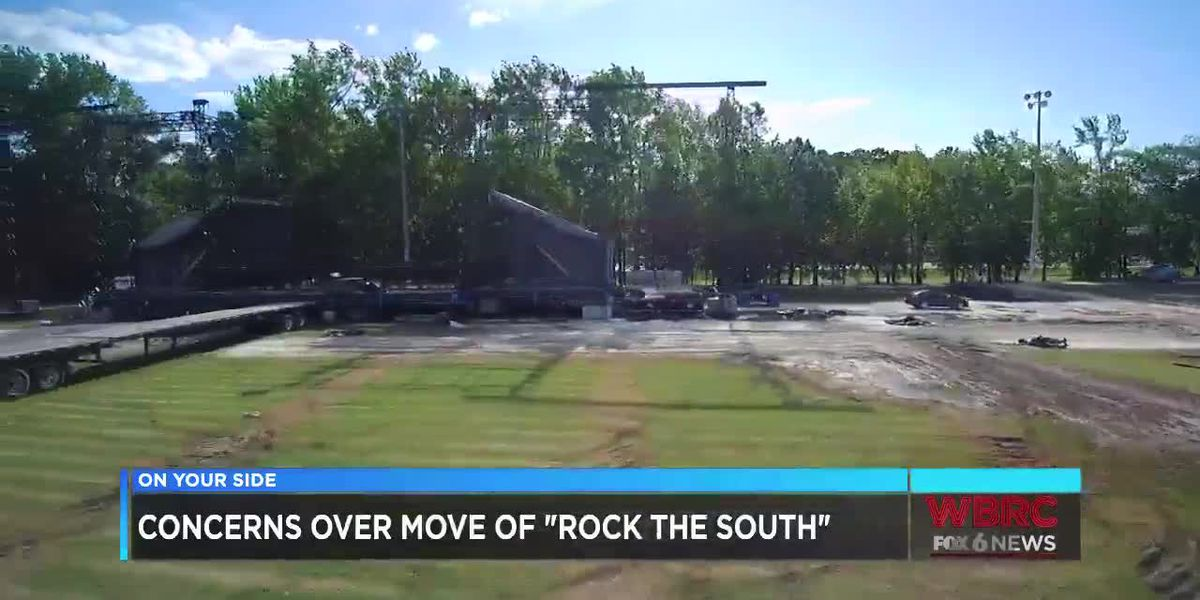 Rock the South Concert possibly moving