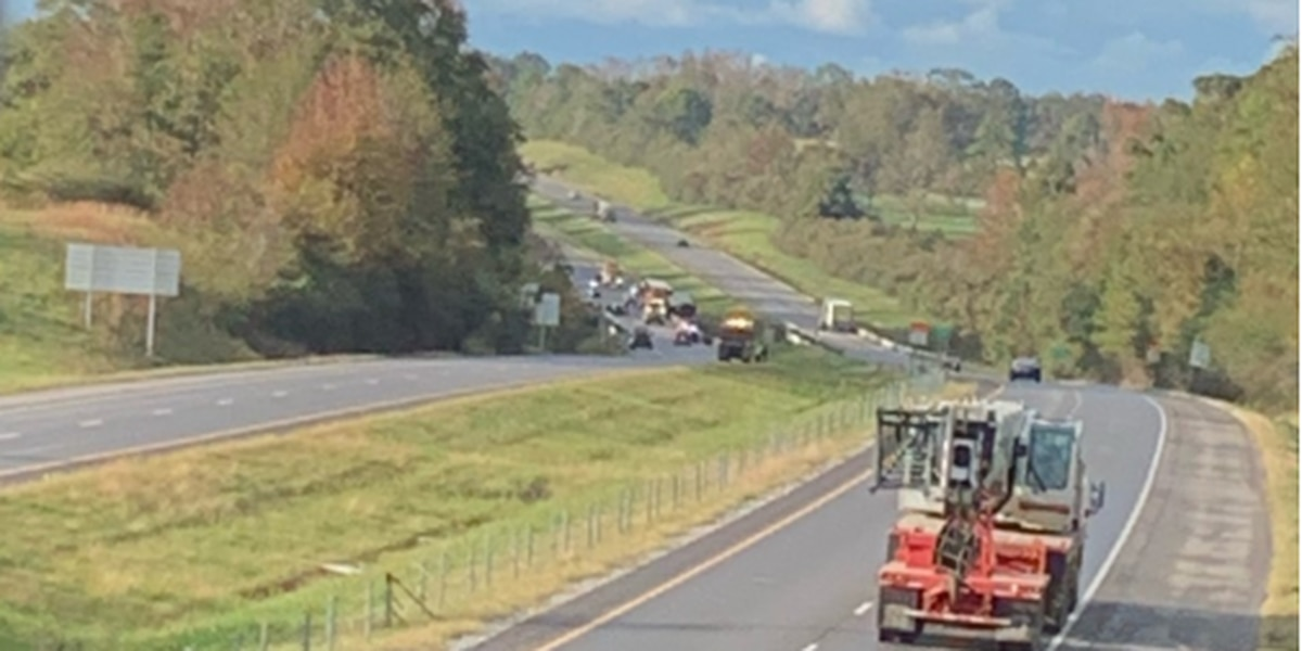 I-65 south in Clanton reopens