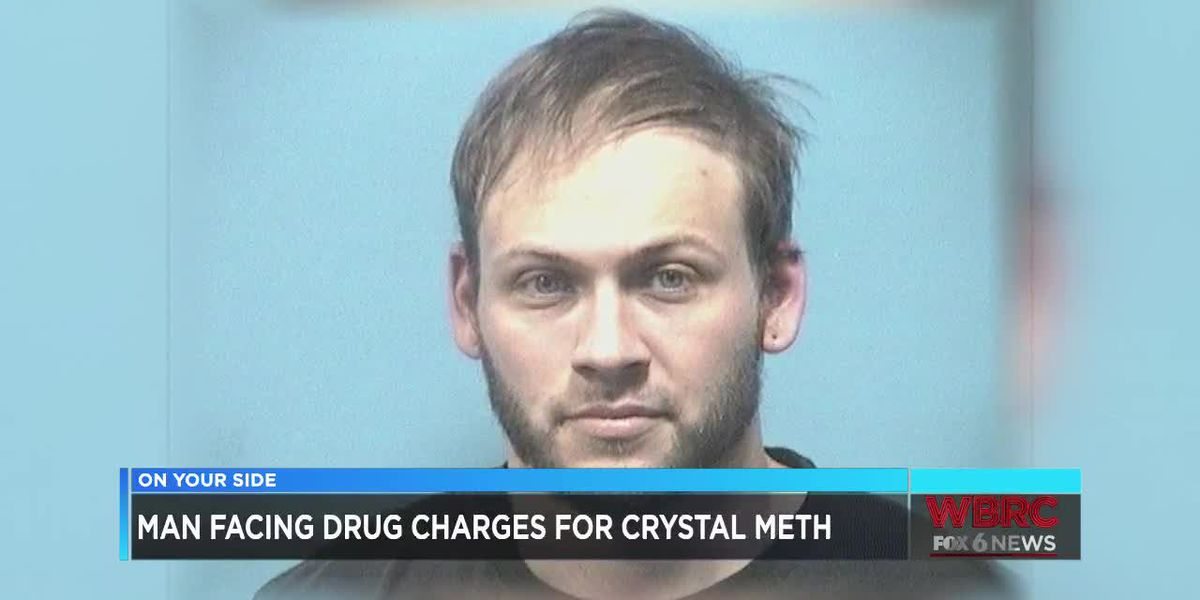 Man facing drug charges for crystal meth