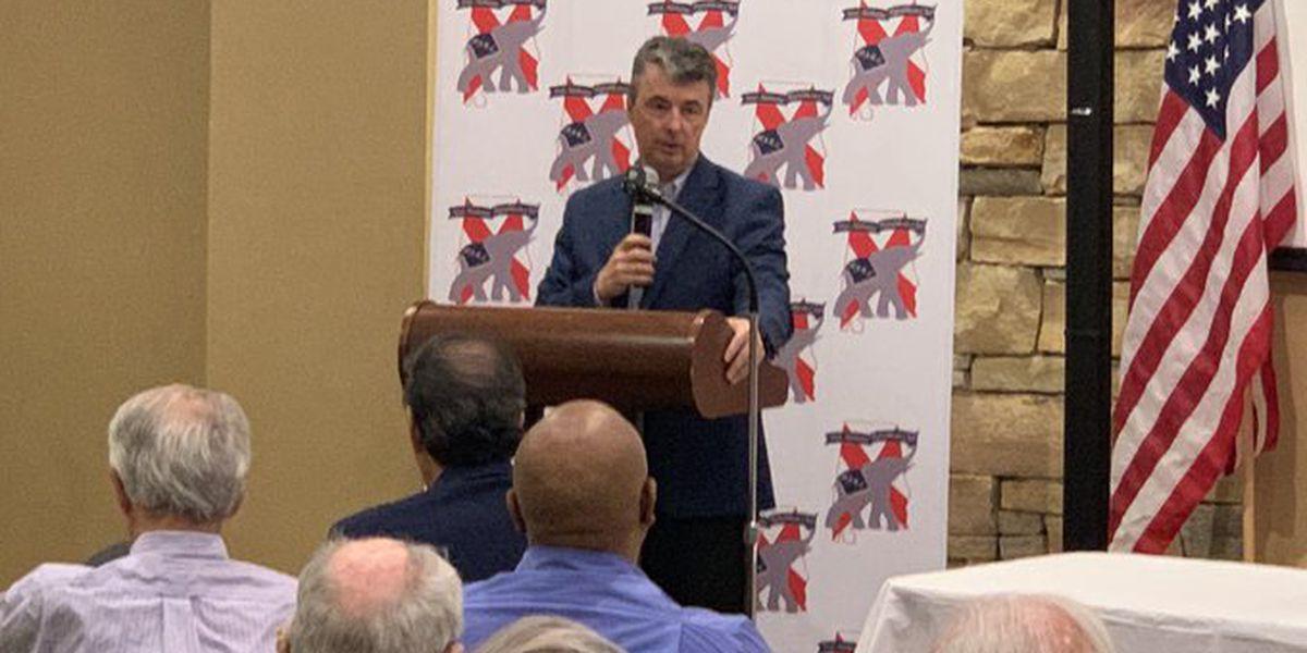 Steve Marshall speaks to Republican Club in Vestavia
