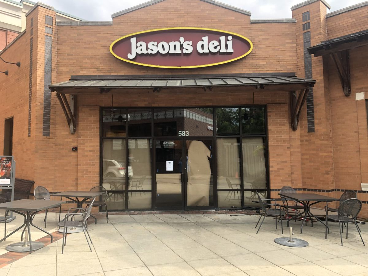 Jason's Deli becomes latest business to close in Brookwood Village