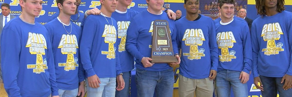 Piedmont holds Championship Celebration for football team