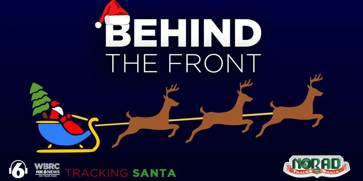 Behind the Front: Tracking Santa with NORAD