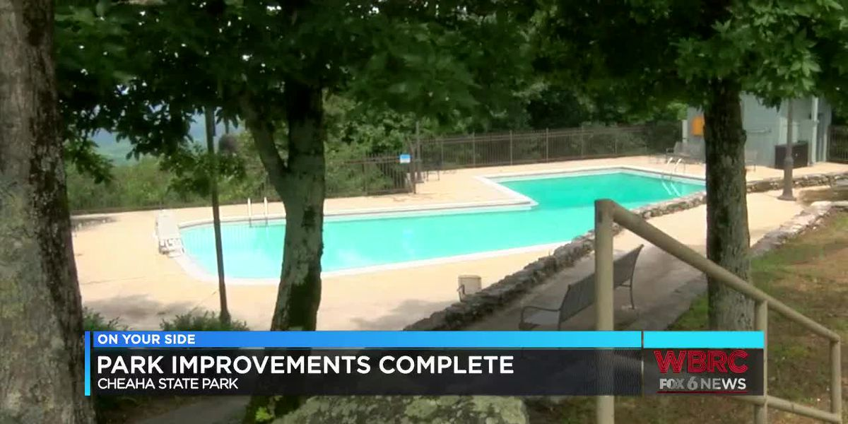 Cheaha State Park improvements complete