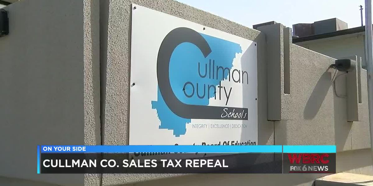 Cullman County sales tax repeal
