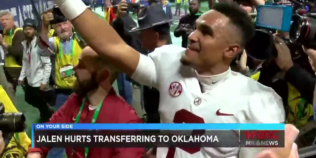 Jalen Hurts transferring to Oklahoma