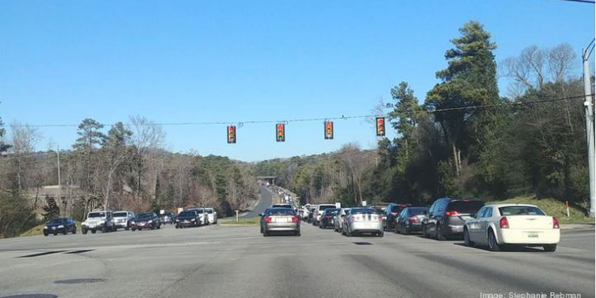 BBJ: ALDOT to add lanes along U.S. 280 between Red Mountain Expressway and I-459