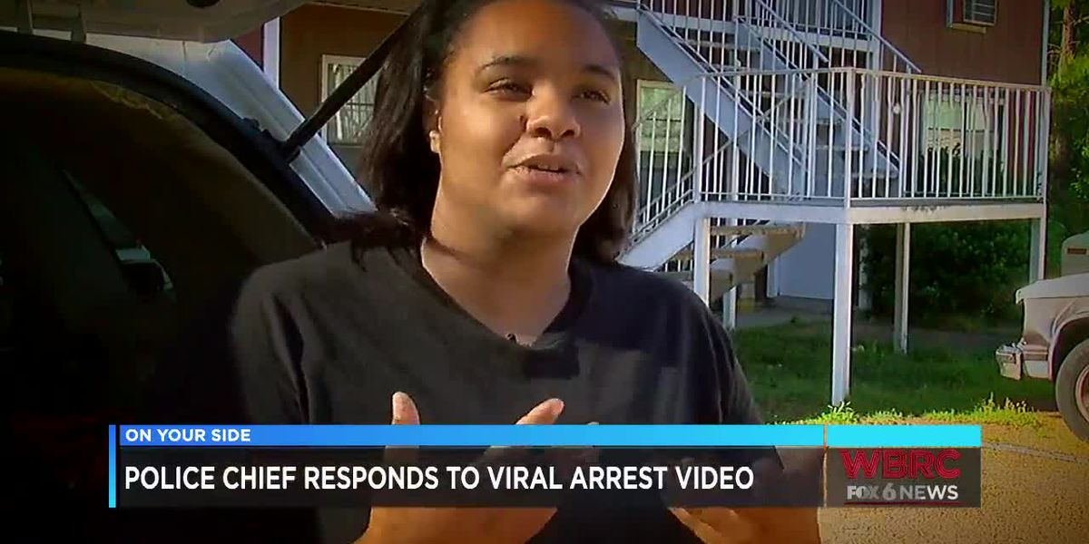 Tuscaloosa police chief responds to viral arrest video