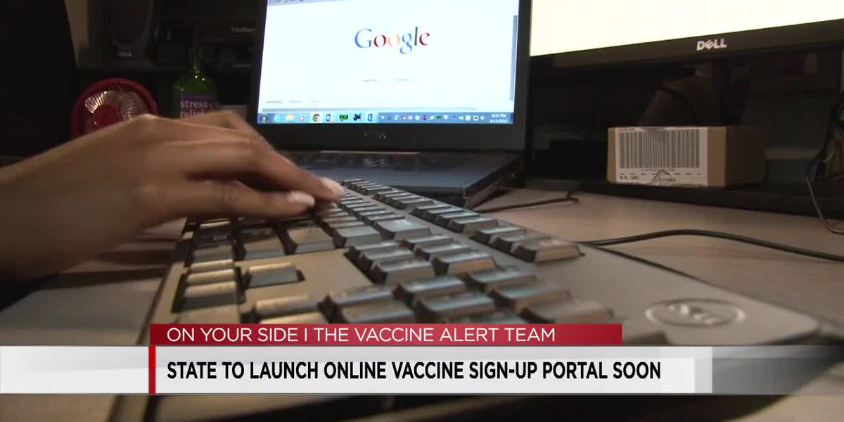 Alabama to launch online vaccine sign-up portal soon