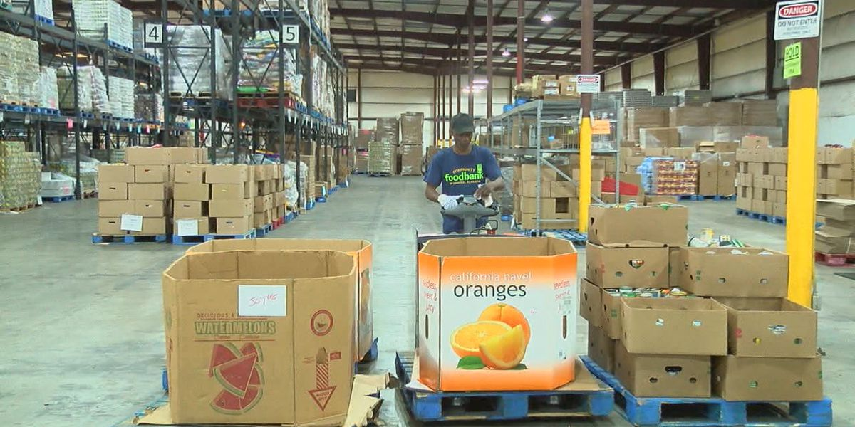 Community Food Bank of Central Alabama in need of canned green vegetables