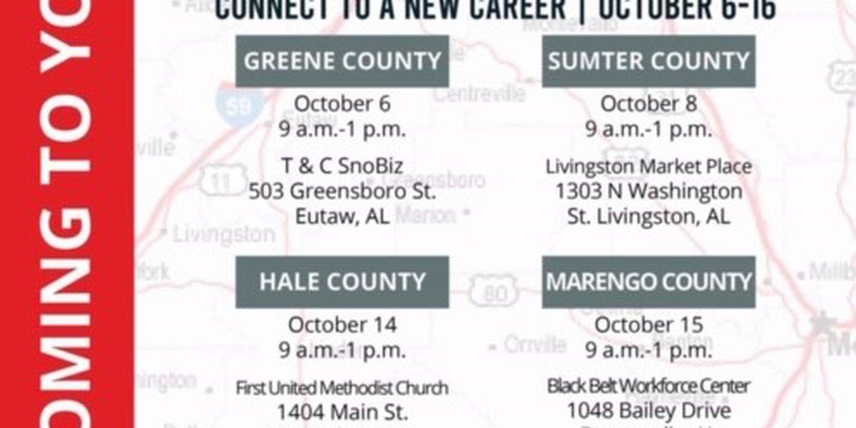 West Alabama Works job mobile unit to visit underserved communities