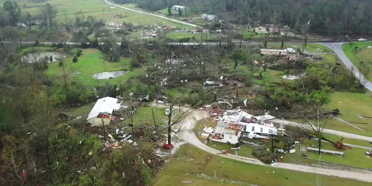 Recovery efforts begin in Ohatchee following deadly tornado