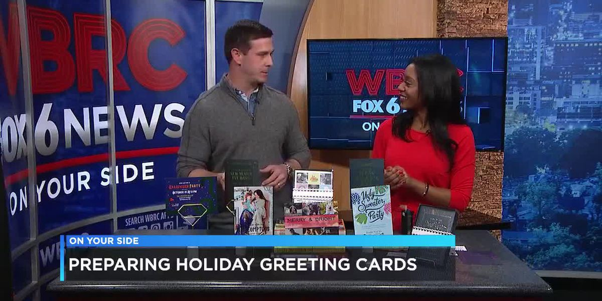 Looksy Prints: Preparing holiday greeting cards