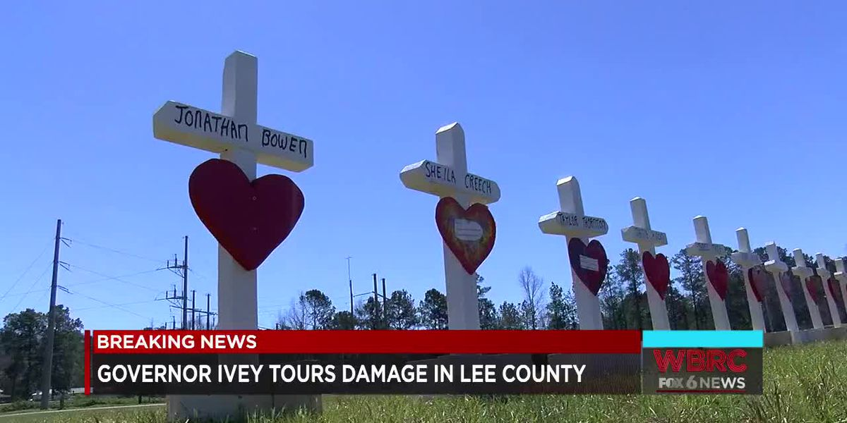 Lee Co. tornado victims rely on donations for basic necessities after losing everything