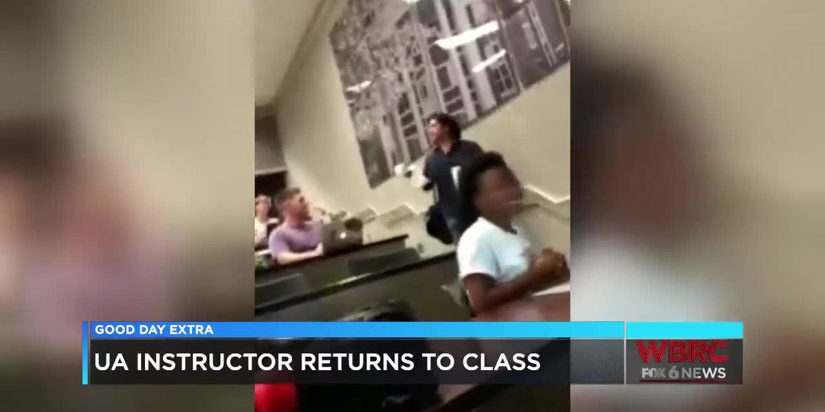 UA instructor returns to class after suspension