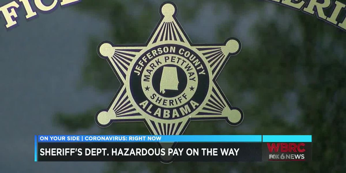 JeffCo Sheriff's Dept. hazard pay on the way