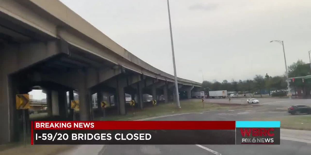 Detours around I-59/20 bridge project