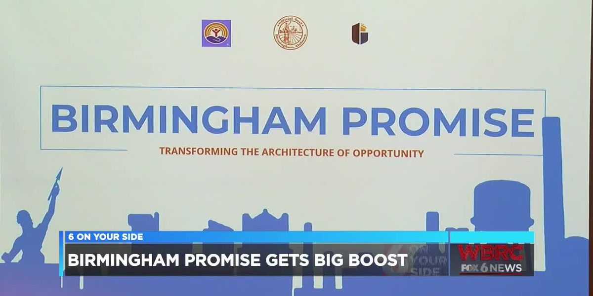 Birmingham Promise program gets $3 million donation
