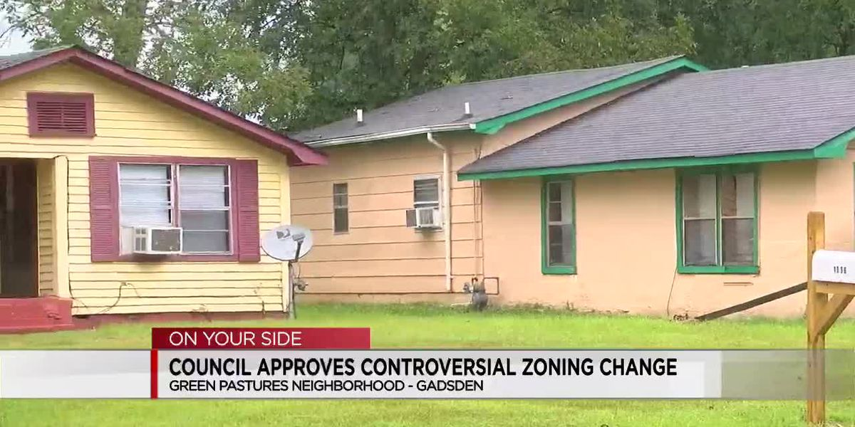 Gadsden council approves controversial zoning change