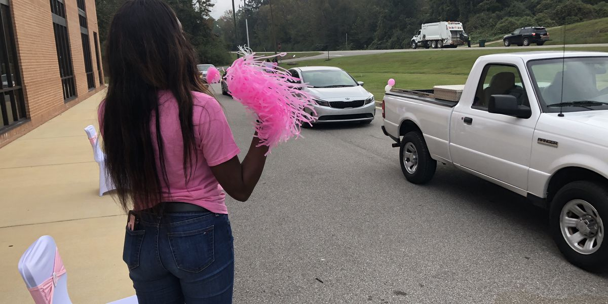 Students host drive-thru breast cancer event in Greensboro