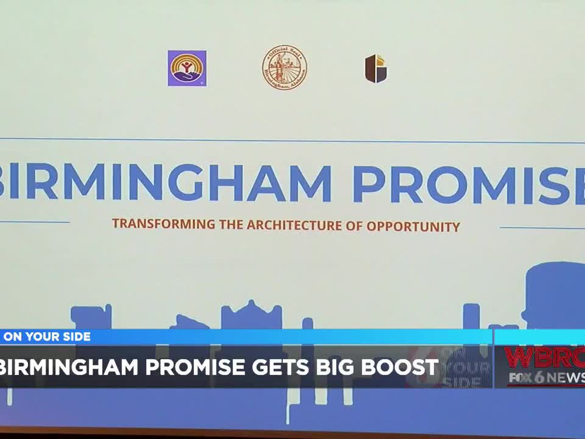 Birmingham Promise program gets $3 million donation