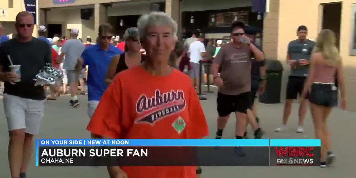 Auburn baseball superfan walks 9 miles