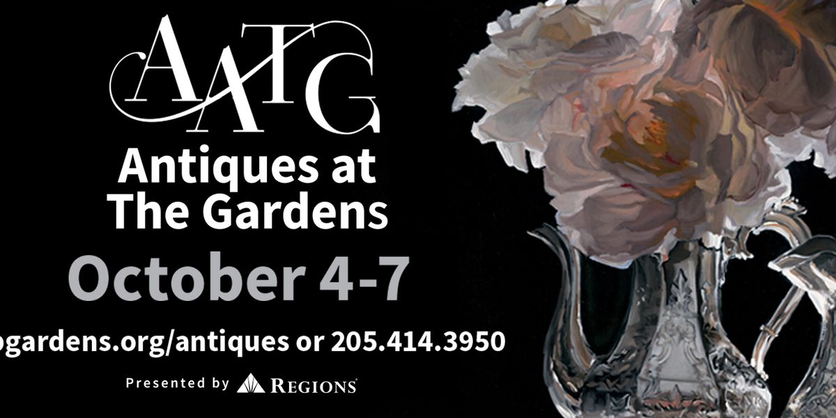 Antiques in the Gardens: Show this weekend at Birmingham Botanical Gardens