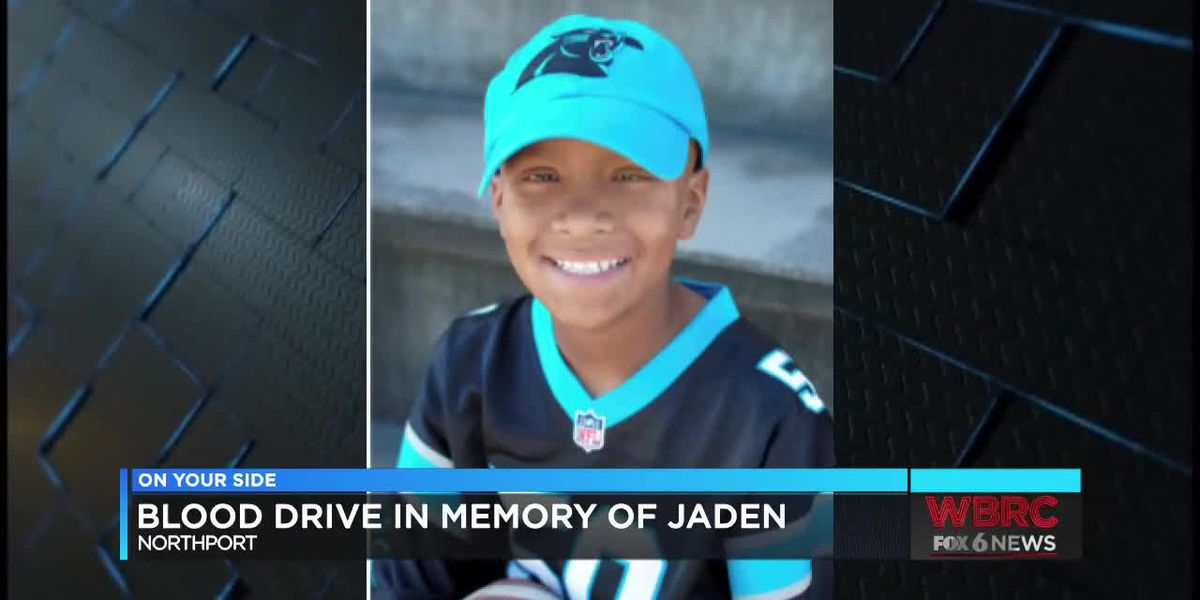 Northport blood drive in honor of Jaden