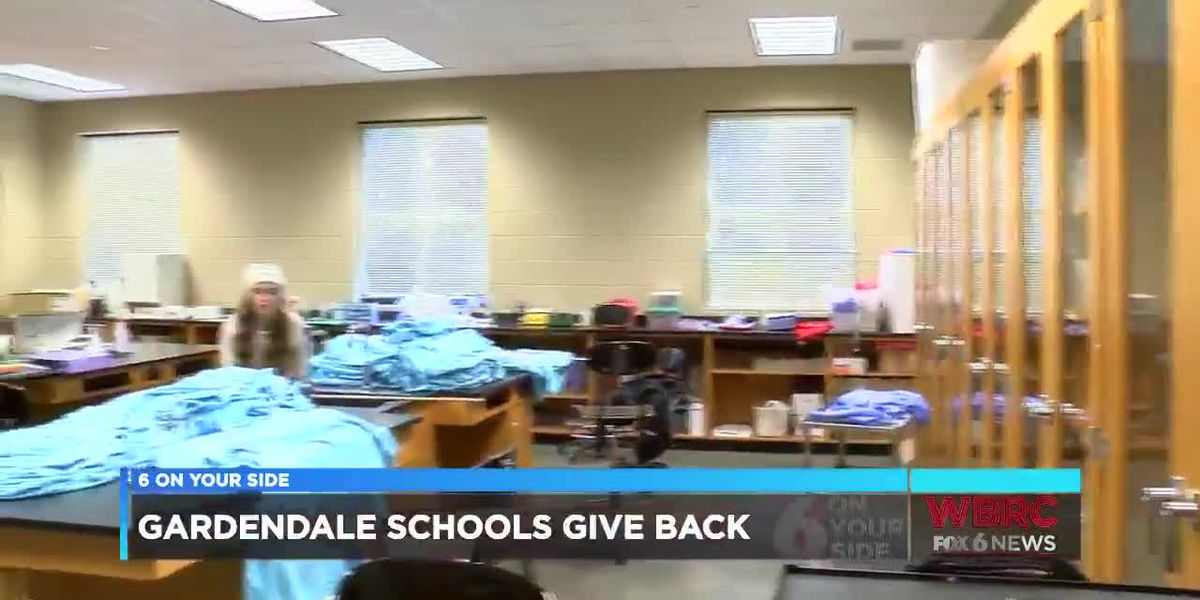 Gardendale gives back