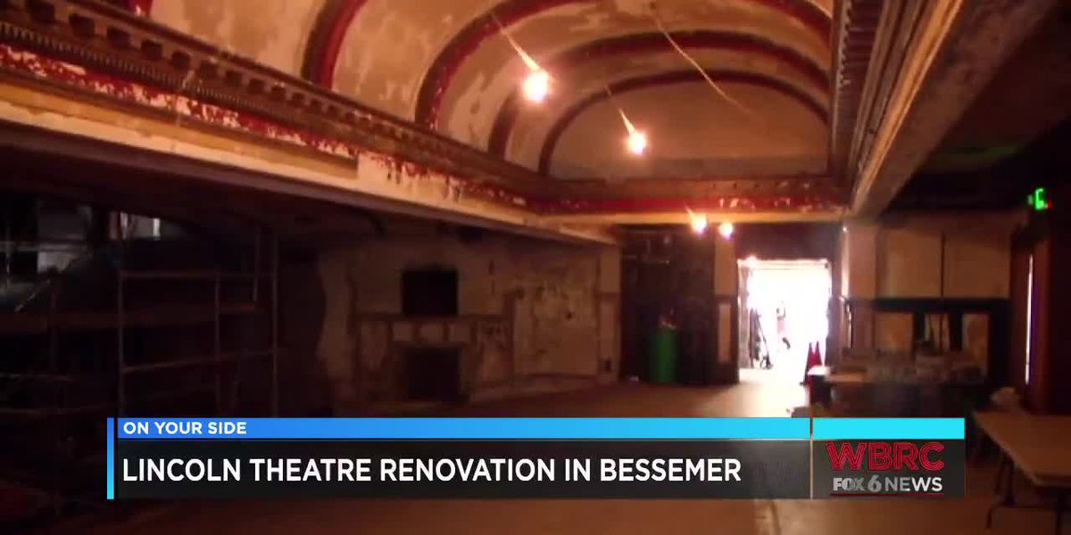 Lincoln Theatre Renovation in Bessemer