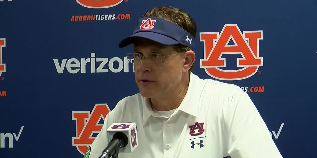 Gus Malzahn and Bo Nix speak after the Mississippi State game