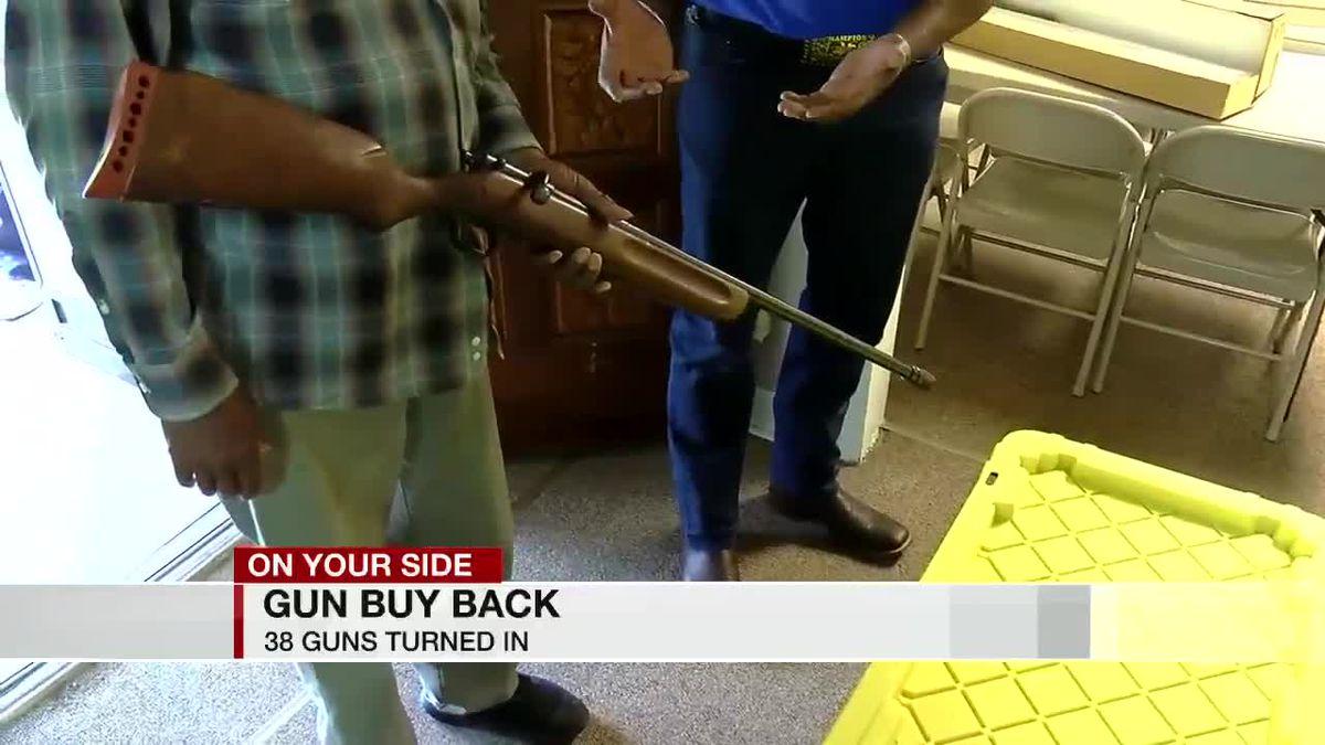 Local organization helps recover dozens of guns for Birmingham Police