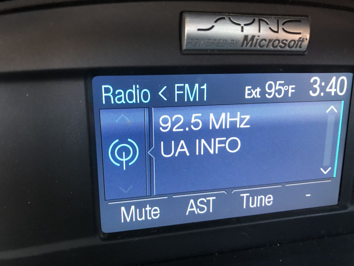New UA radio station offers traffic and parking information