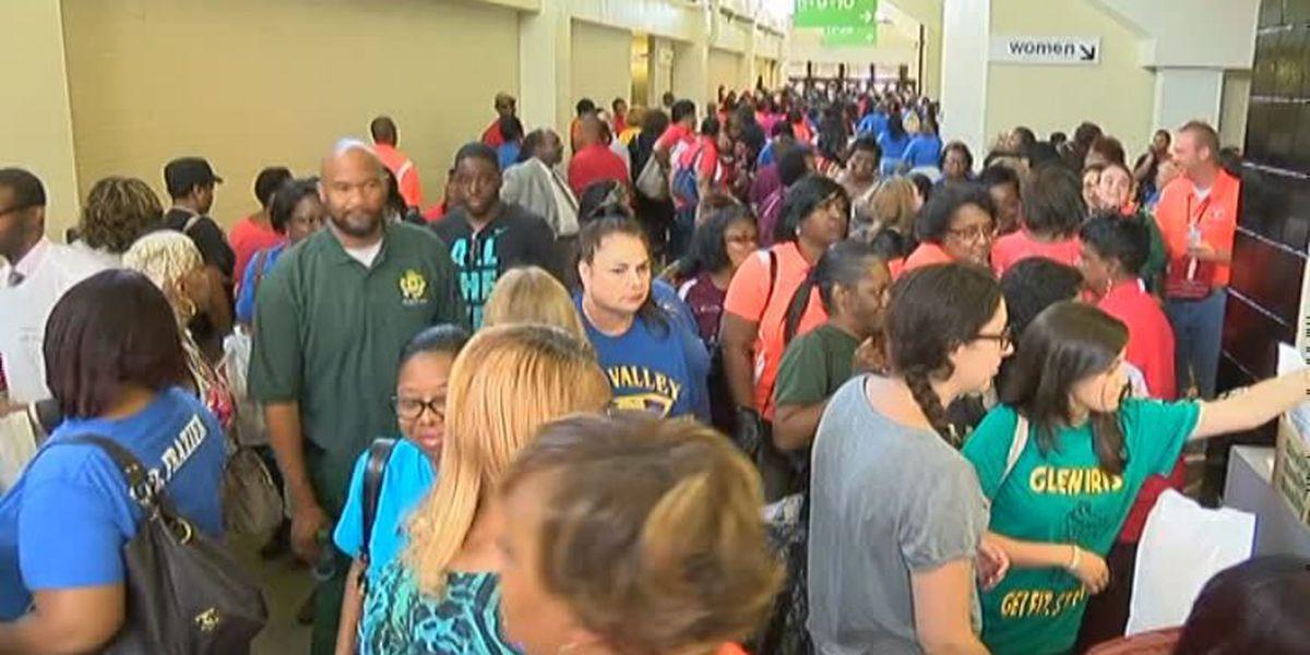 At Your School: Birmingham teachers rally before new school year