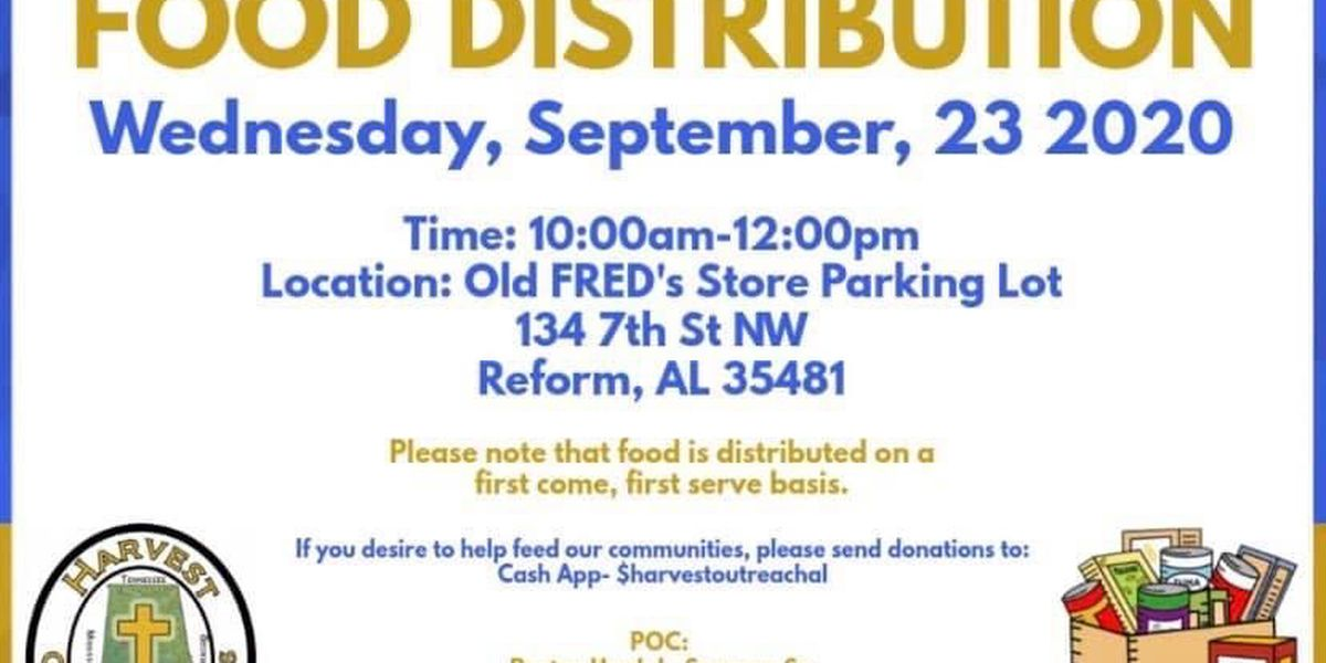 Food giveaway happening Wednesday in Pickens County