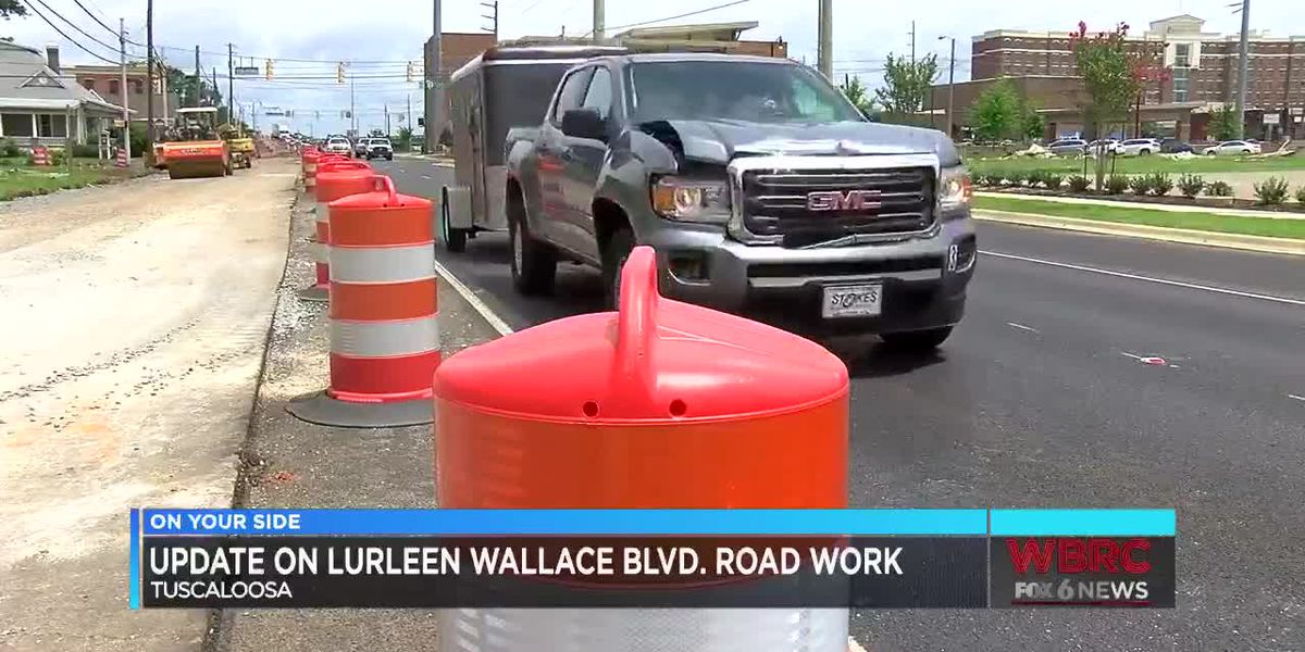 Update on Lurleen Wallace Blvd. road work