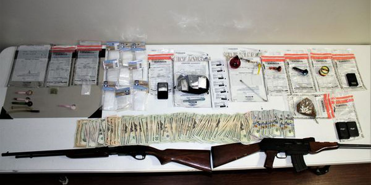 Clay Co. drug and liquor still bust