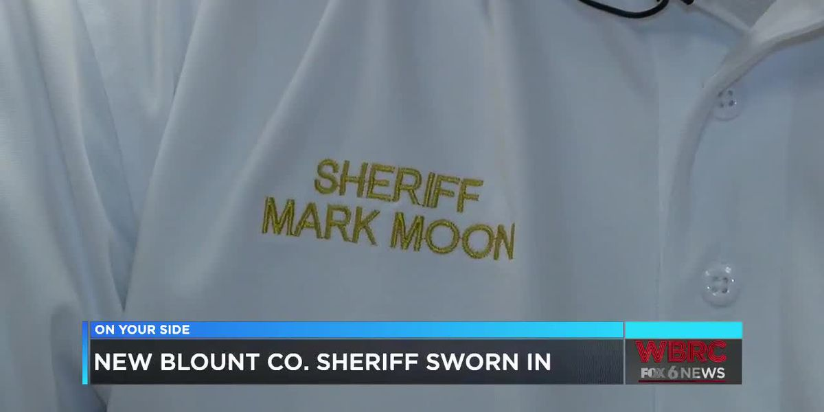 New Blount Co. Sheriff sworn in
