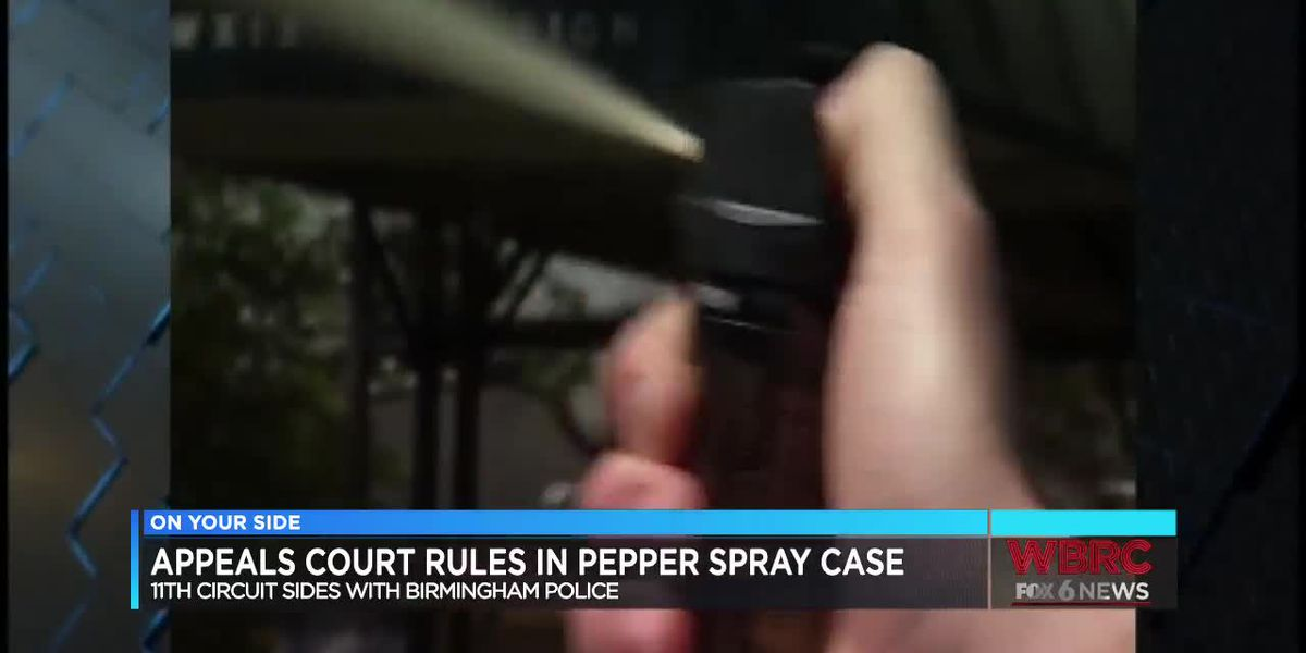 Appeals Court rules in pepper spray case