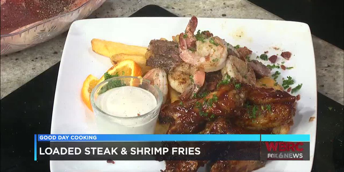 Chef Ron: Loaded Steak & Shrimp Fries and Wings