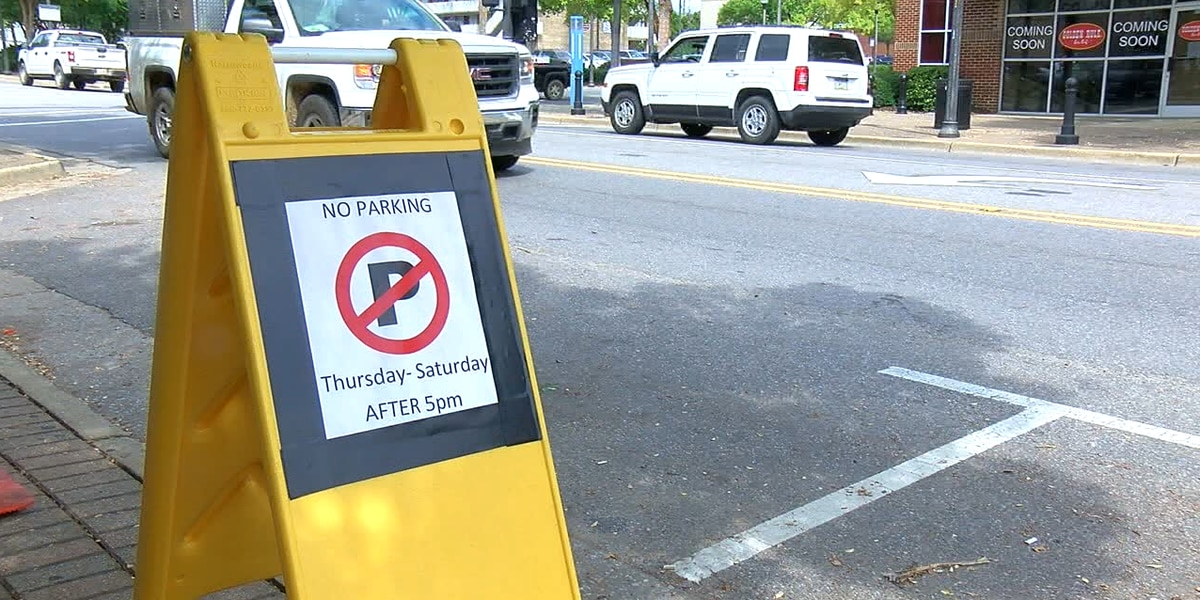 Temporary parking changes to promote social distancing start in Tuscaloosa