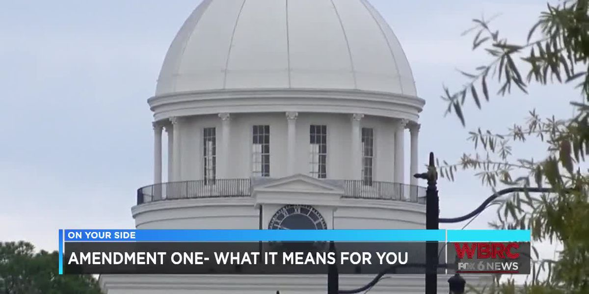 Amendment One: What it means for you